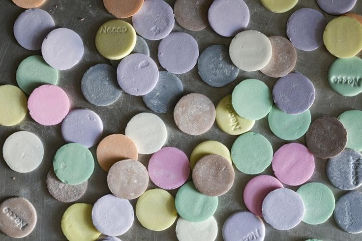 necco wafer confetti! By Seth Smoot