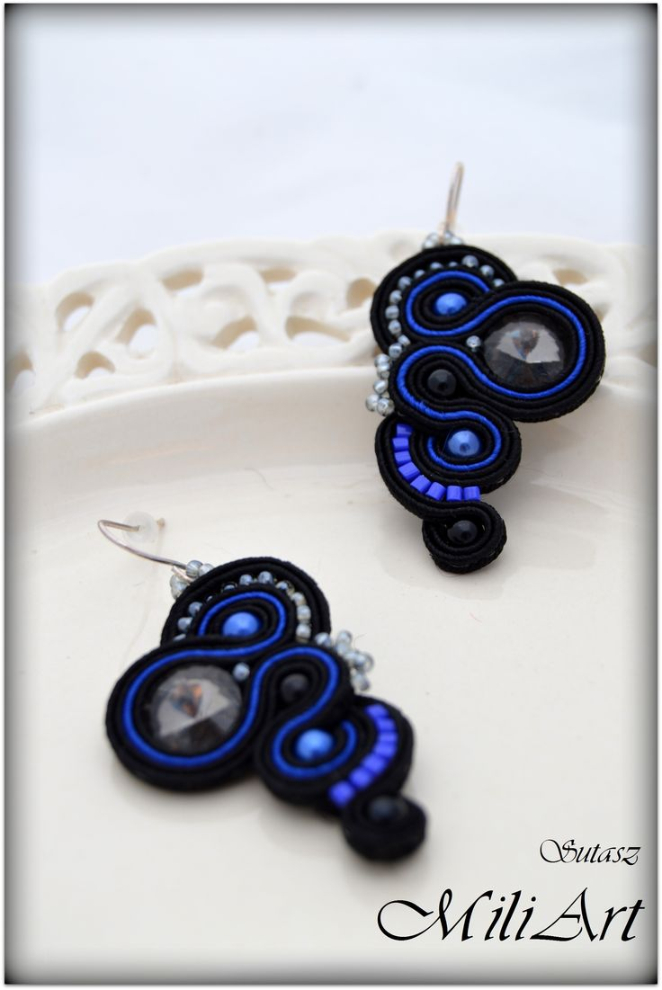 Biżuteria sutasz. Unique jewellery soutache   https://www.facebook.com/SutaszMili http://miliart.otwarte24.pl/