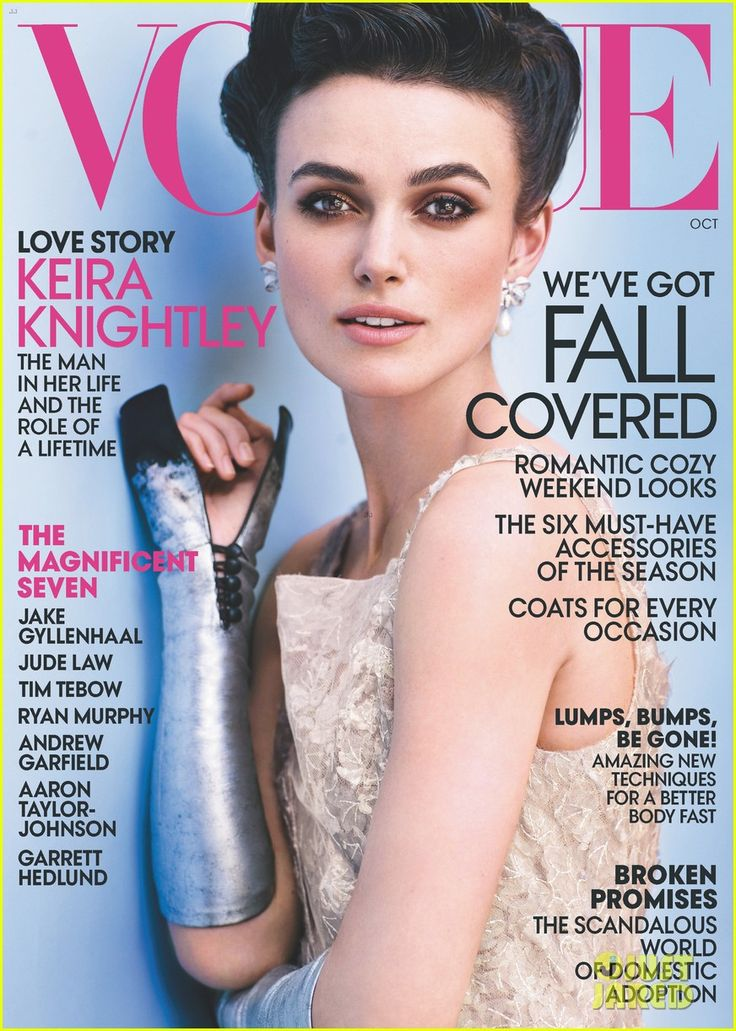 Keira Knigthley Covers 'Vogue' October 2012