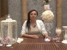 Мастер-класс Свадебный букет-шар для украшения стола - YouTube
