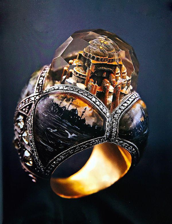 Sevan Biçakçi Hagia Sophia ring