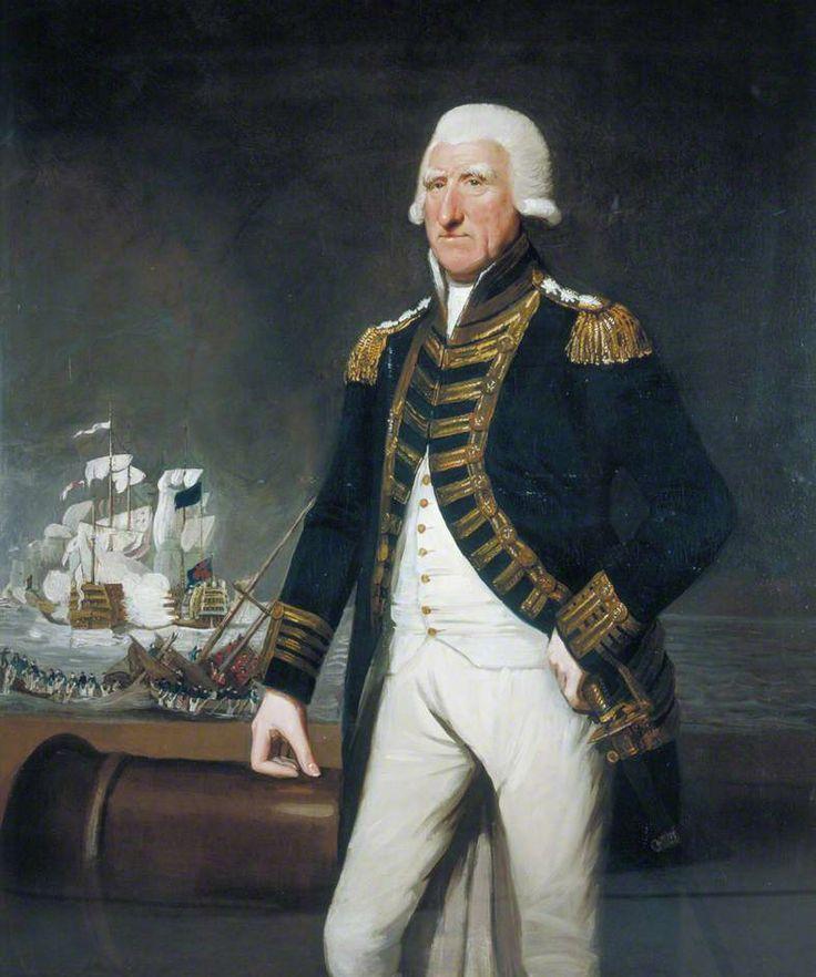 british admirals - Samuel Hood (1724–1816), 1st Viscount Hood , British Admiral