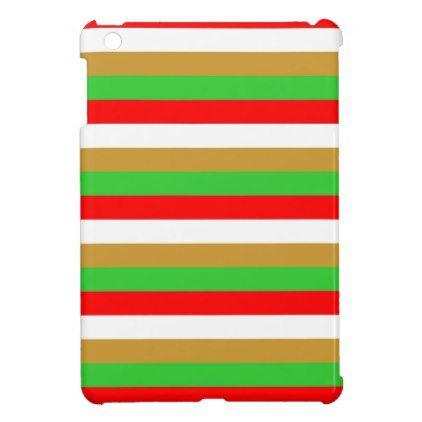 Tajikistan flag stripes iPad mini cases - patterns pattern special unique design gift idea diy