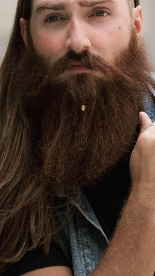 Beard jewelry is now a thing, and people are not happy about it