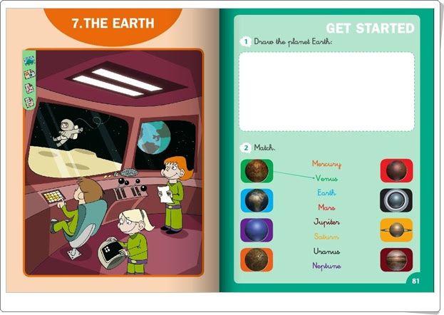 """Unidad 8 de Social Science de 1º de Primaria: """"The Earth"""""""