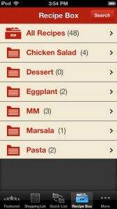 Thousands of recipes in one app, plus they are from some of Food Network's best chefs. Awesome!  Pin it and learn more.