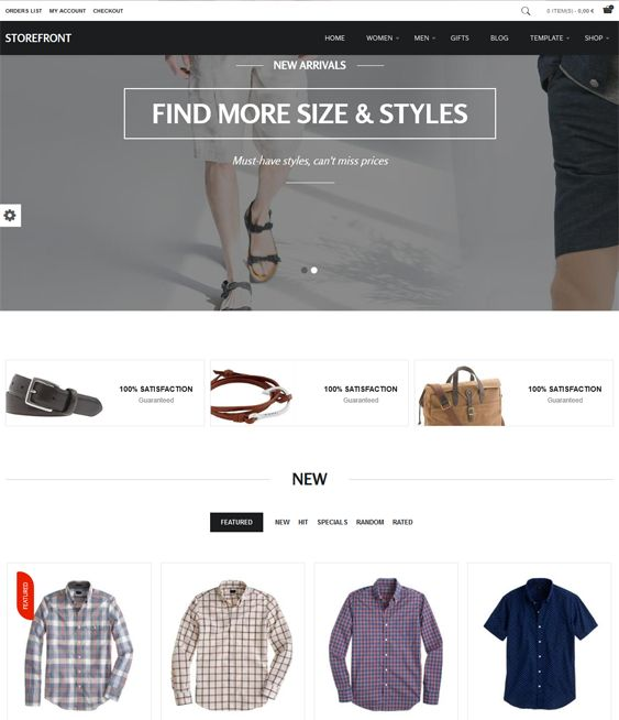 16 best 16 More of the Best VirtueMart Templates images on Pinterest ...