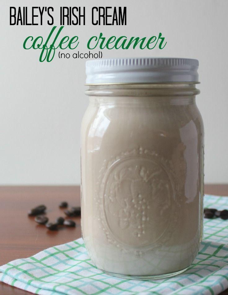 Bailey's Irish Cream Non Alcoholic Irish Coffee Creamer. One of my favorite gluten free recipes and a great treat for breakfast.