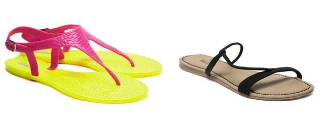 #Monsoon #Fashion: Stylish Waterproof #Footwear - T-Strap Sandals