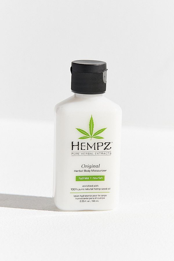 Hempz Mini Original Herbal Body Moisturizer In 2020 Moisturizer