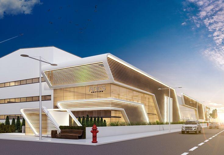 Antalya'da bulunan Ares Yatçılık'ın yeni tersanelerinin yönetim binası için tasarım çalışmalarımız devam ediyor.