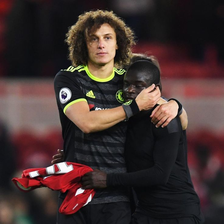 David Luiz and Kante