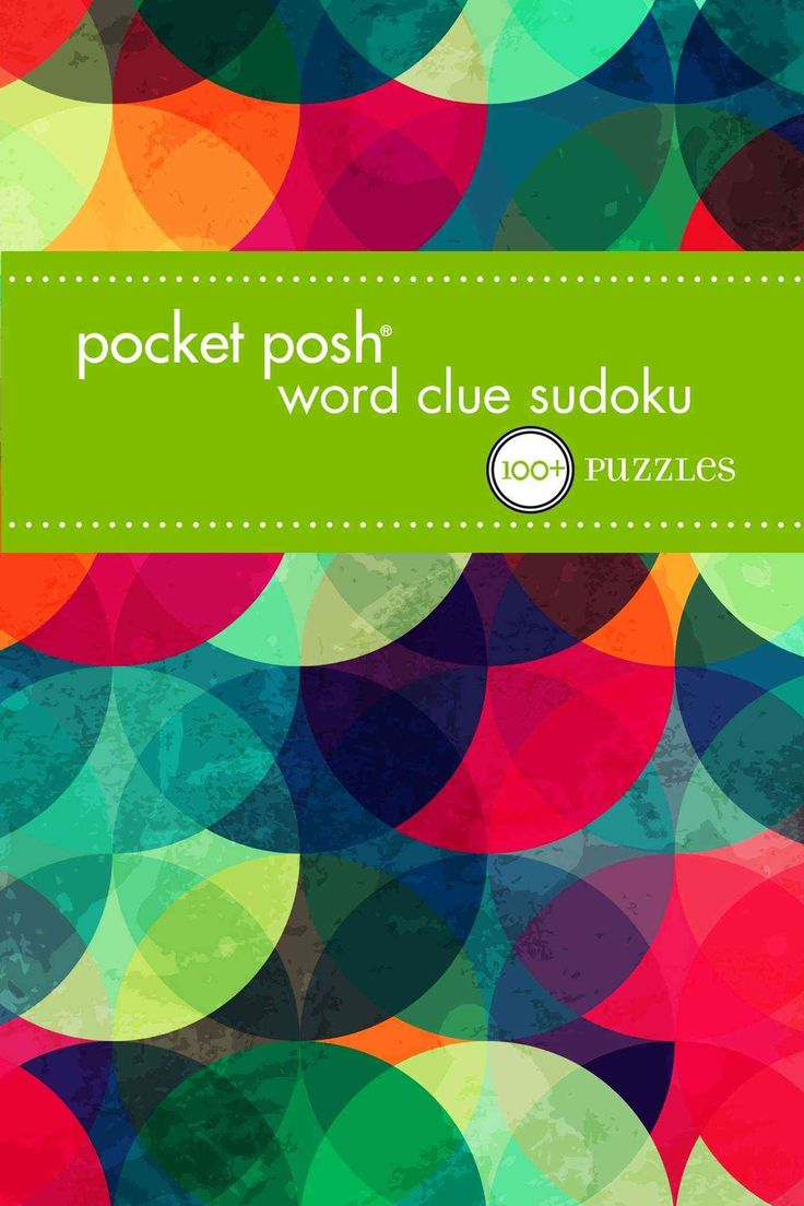 Pocket Posh Word Clue Sudoku: 100+ Puzzles