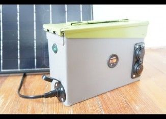 How to build a Portable 420 watt Ammo Box  Solar Power Generator . Very Detailed Instructions,perfect for beginners