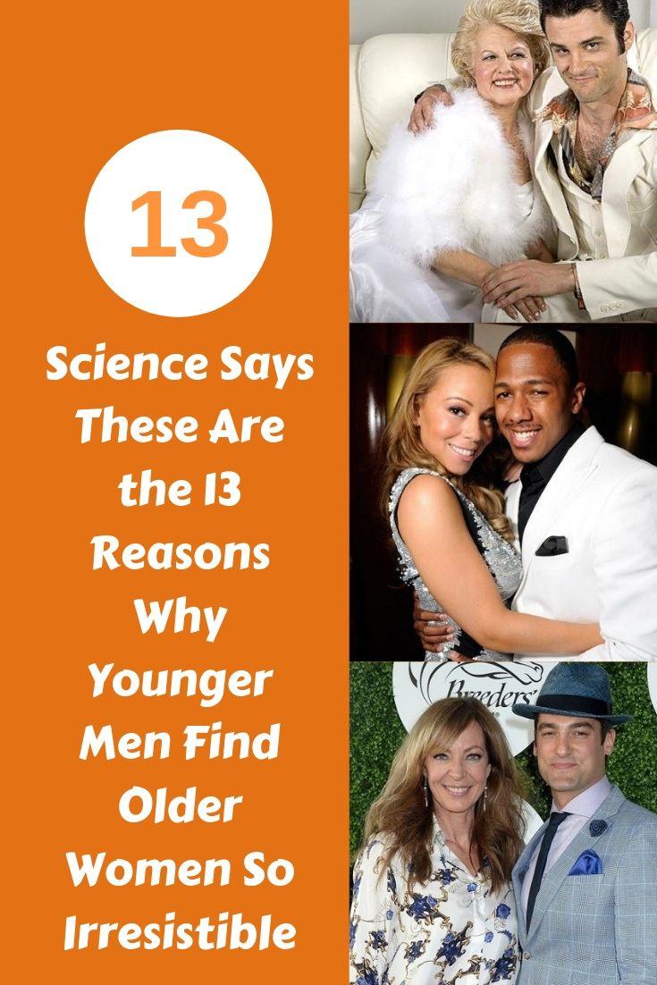 We Often Wonder Why Younger Men Find Older Women -8508