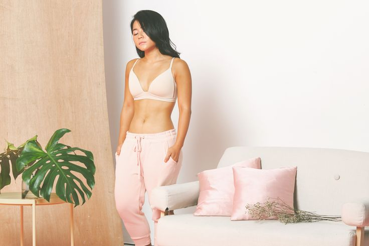 Feel comfortable, free and limitless with Terie's soft friendly bralette.