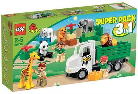 Køb LEGO DUPLO, Super Pack, 3-in-1 - fra Lekmer.dk