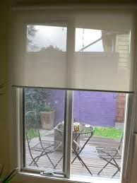 Holland Blinds and E-screens in a house in Yarraville