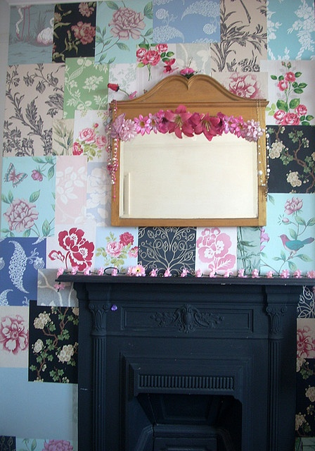 Patchwork papers by Raggedroses, via Flickr