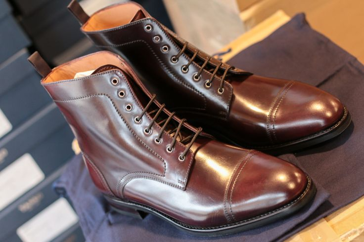 MTO Cordovan BOOTS - http://patine.shoes