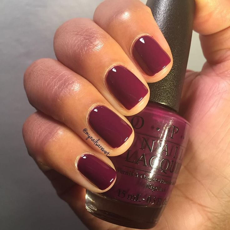 Winter Nail Polish Colors: 25+ Best Ideas About Maroon Nails On Pinterest