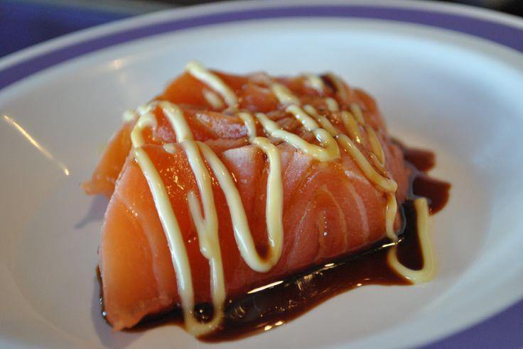 Sashimi. Wasabi Sushi Marbella.