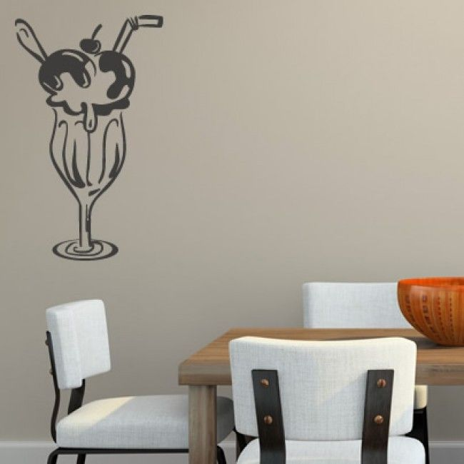 Knickerbocker Glory Wall Sticker. Http://walliv.com/knickerbocker Glory · Dining  Room ...