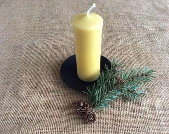 Large Beeswax Pillar Candle, Beeswax Pillar Candle, Large Pillar Candle, Pillar Candle, Beeswax Candle, Church Candle, Large Candle, Candle