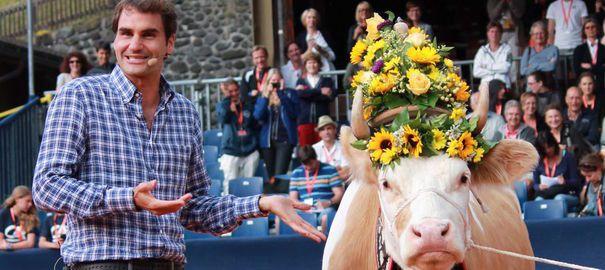 Le Suisse aux 17 titres en Grand chelem Roger Federer fait son grand retour à l'Open de Gstaad, après neuf ans d'absence sur ce tournoi.