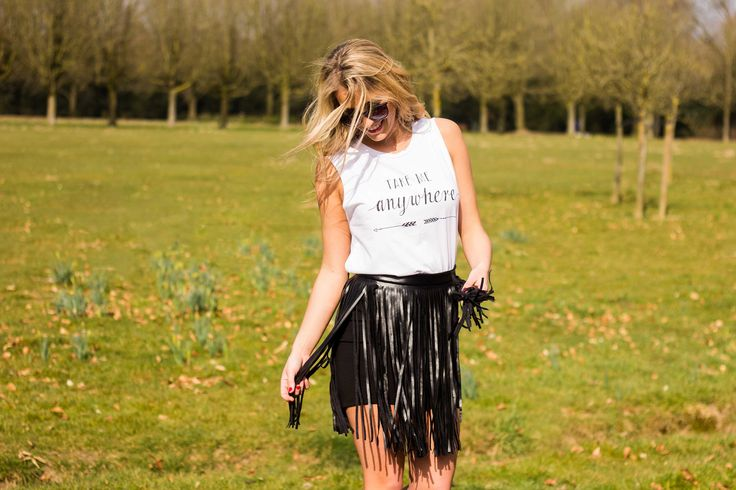 In love with our new fringe skirt. Shop yours @ www.myfavouritemusthaves.com