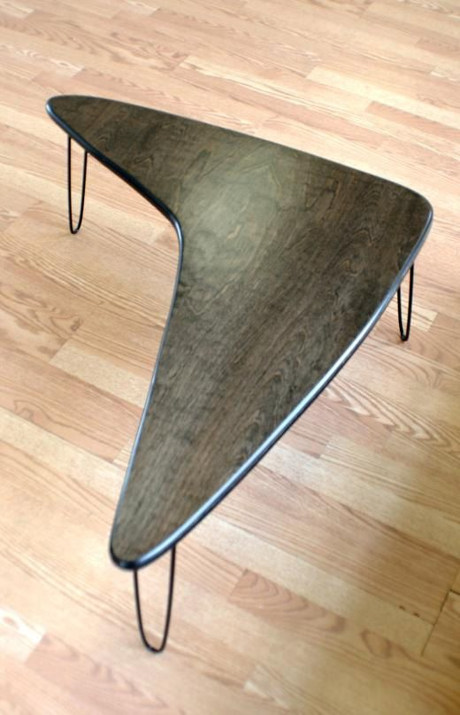 Booma Mid coffee table Eames Era Mid by lunarloungedesign
