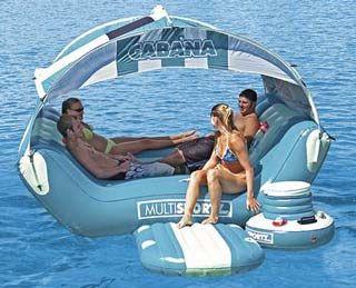 Marvelous Cabana Islander Inflatable Raft