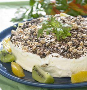 Citronis  Let og lækker is - kan serveres med årstidens frugt