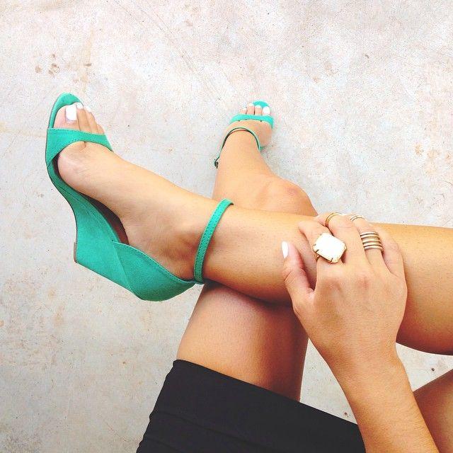 Pretties on my feet.