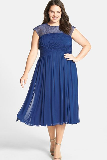 Plus Size Wedding Guest Dresses Summer Nuptials Inspire Ruched Dress