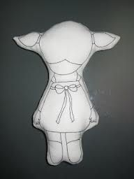 fabric toys that can be drawn on - make some teddies to be drawn on with fabric pens by the kids to commemorate the day!