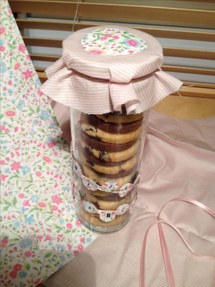 Unas galletas bien empaquetadas y personalizadas