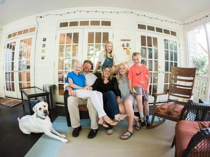 Hunter Schafer, center at back, and her family at their Raleigh home. Hunter's parents Mac and Katy Schafer say they don't know what they would have done without the help they found at Duke. Hunter, who transitioned from male to female as a teenager, needed hormone treatments.