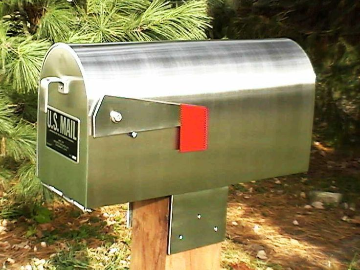 Contemporary mailboxes are still popular with brand new features. You will find them unique to become decorative accessories in front of your house. Materi