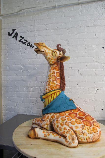Big Giraffe Jazooooo 2011! by Karen Portaleo/ Highland Bakery