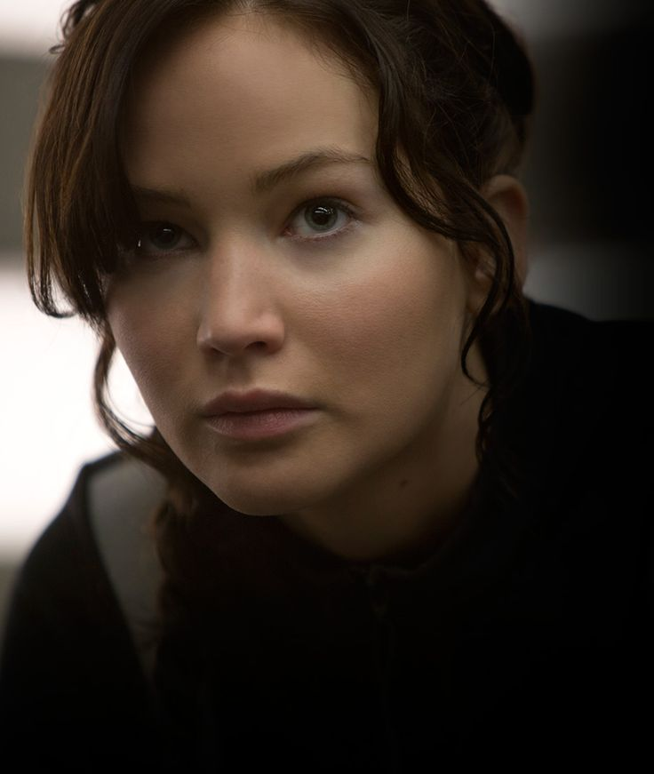 Jennifer Lawrence as Katniss Everdeen #CatchingFire