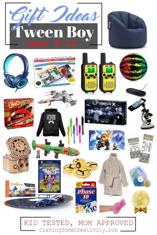 Best Gifts For Tween Boys Age 10 To 12 Craving Some Creativity Tween Boy Gifts Christmas Gifts For Boys Christmas Gifts For 10 Year Olds