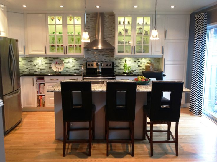 ikea kitchen see before pics by second wind interior design second wind interior design. Black Bedroom Furniture Sets. Home Design Ideas
