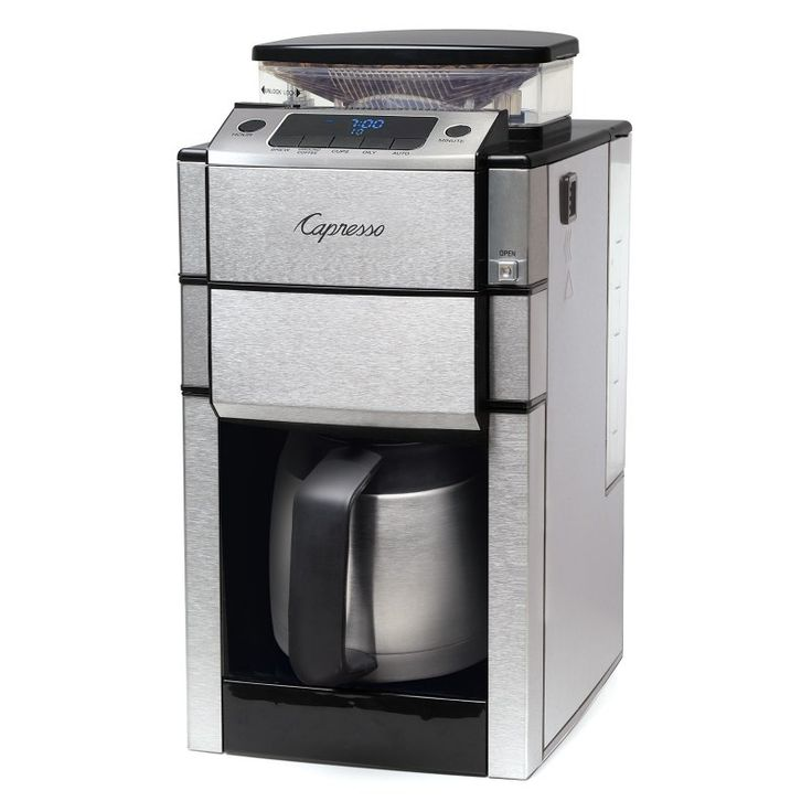 Capresso Coffee Team Pro Plus Coffee Maker with Stainless Steel Carafe - 488.05