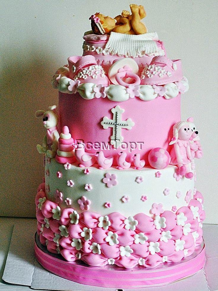 Торт на первое причастие. Заказ торта в Москве на день рождения для детей