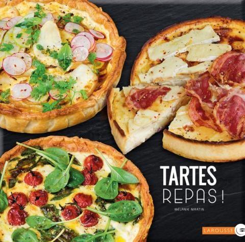 Tartes repas | Editions Larousse