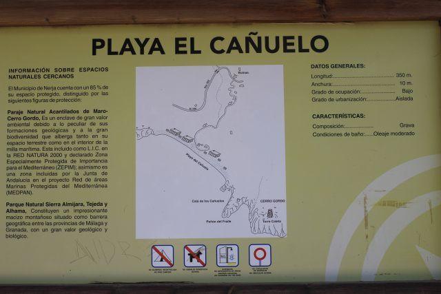 Praia na Costa Tropical em Espanha