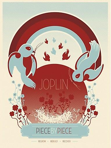 Rob Brooks, Moosylvania Art for Joplin poster project #graphicDesign
