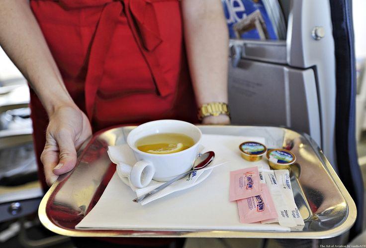 AEGEAN BUSINESS CLASS Tea Time.