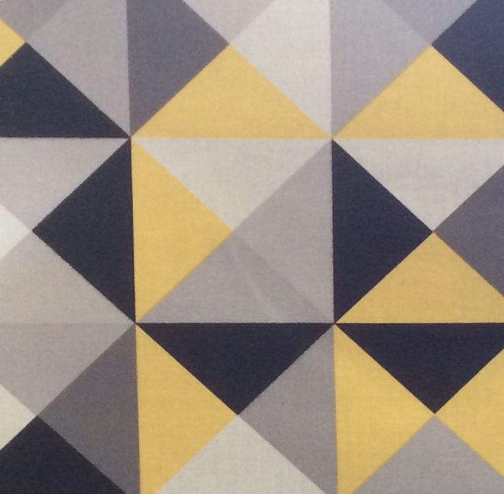 Zelie In Grey And Yellow Extra Wide Oilcloth